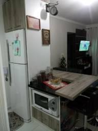 Lindo apartamento mobiliado com móveis planejados, dois quartos