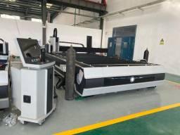 Máquina de corte a laser metais fibra IPG 1000w