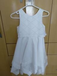 Vestido branco cerimônia