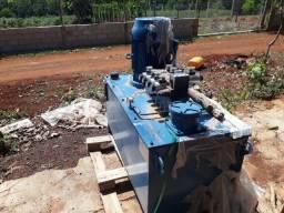 Maquina de blocos - unidade hidraulica e acessorios - preço bom