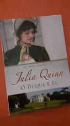 Livro O Duque e Eu da saga Os Bridgertons