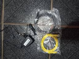 Cabo HDMI.. Cabo de rede..fontes