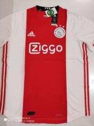 Camisa Ajax Home Player Adidas 19/20 - Tamanho: G