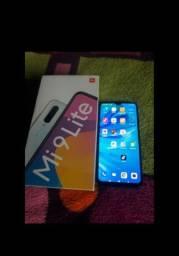 Xiaomi mi9 lite novo 3 meses de uso 1,500$ aceito propostas