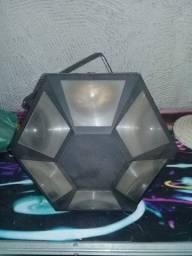 Caixa e iluminação