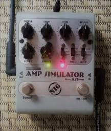 Título do anúncio: Pedal Nig AS-1 Amp Simulator