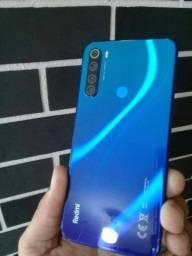 "REDMI NOTE 8 128GB AZUL TELA 6.3"" troco por: (Motorola One Zoom)"