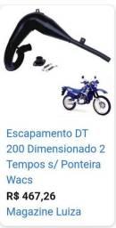 Título do anúncio: Curva do escapamento da DT 200 original, famosa Banana