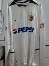 Título do anúncio: Camisa de jogo Corinthians Pepsi 2003/2004