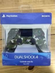 Controle PS4 novo lacrado na caixa