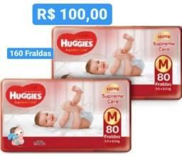 Título do anúncio: SUPer PROMoÇÃO Fraldas Supreme Care M - 2 Pacotões - 160 Fraldas