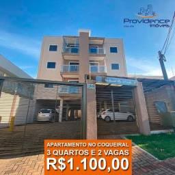 Apartamento com 3 dormitórios no Bairro Coqueiral