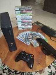Título do anúncio: Xbox 360 - Slim Desbloqueado