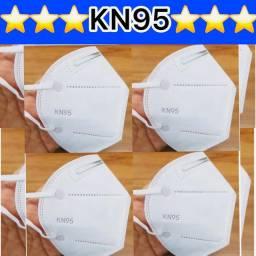 Máscara de proteção respiratória KN95 PFF2 - Pronta entrega JF