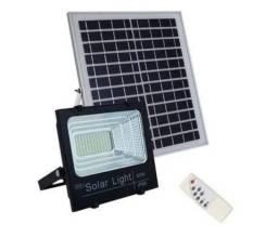 Kit Refletor 100W Com Painel Solar