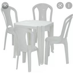Título do anúncio: Aluga-sr mesas e cadeiras
