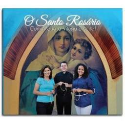Título do anúncio: cd santo rosário -com maria a vitória é certa - Canção Nova/usado-Católico