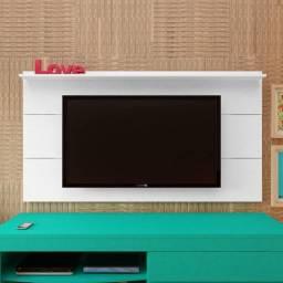 Título do anúncio: Painel Artely Slim com prateleira, ideal para TVs até 60 Polegadas - Entrega Imediata;