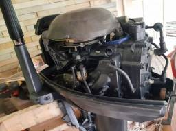 Título do anúncio: Vendo. Motor de polpa YAMAHA 25 HP.  Todo revisado. 7.600