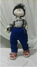 Título do anúncio: Boneco de pano Professor feito à mão