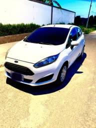 New Fiesta Hatch 1.5 S, 2014, Revisado, IPVA 2021 Pago, Única Dona, Carro de Garagem