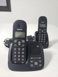 Título do anúncio: Telefone sem fio Philips semi-novo