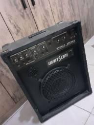 Caixa Amplificada wattsom prc 200 usada, R$650