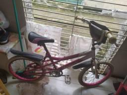Bicicleta para menina monak rosa