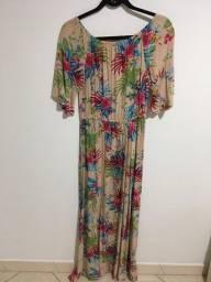 Título do anúncio: vestido longo floral