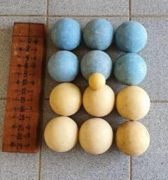 Jogo de Botcha 12 bolas + Bolim