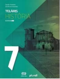 Livro Telaris História- 7° ano #Novo #sem uso