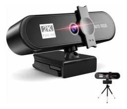 Título do anúncio: Webcam USB com microfone 1080P HD webcam autofoco 2K