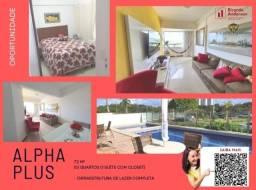 Título do anúncio: Apartamento 3/4, suíte e closet, Paralela, 2 garagens, cond. com lazer, 72m²