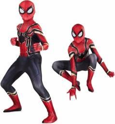 Fantasia Homem aranha de ferro - Spider Man