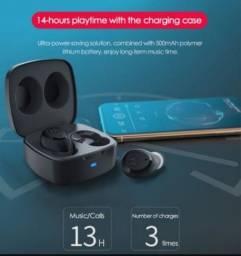 Fone sem fio TWS bluetooth 5 Motorola Vervebuds 100 Touch