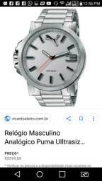 74c454174f1 Relógio Masculino Analógico Puma UIltrasize- 96216G0PMNA2