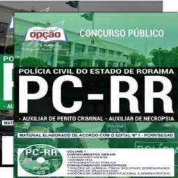 PC-RR - Auxliar Perito e Axuliar Necropsia