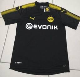 Camisa de time de futebol do Borussia Dortmund tamanho M b2cb354904c88