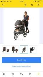 Carrinho + Bebê Conf. Graco Fastaction Jogger Click Connect