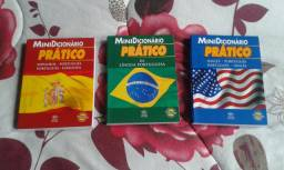 Mini Dicionários Práticos - 3 volumes