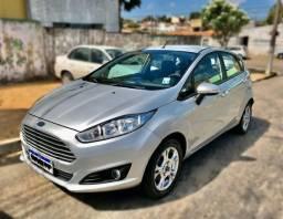 VD/Repasso New Fiesta SE 1.6 Flex Prata 2014 Completo - 2014