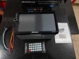 Central multimídia Briwax Touch screen novo e completo