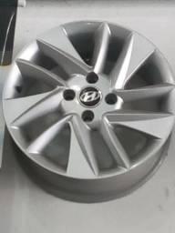Jogo de Rodas Aro 15 Hyundai HB20