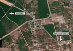 02 Lotes 420 m² - 04 km do Aero SGA - Escritura