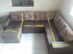 Lindo sofá semi novo
