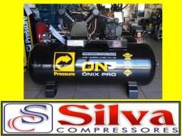 Compressor ar 15 pés 175 litros - Pressure