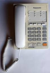 Panasonic KX-TS21W - Telefone com Fio de 2 Linhas