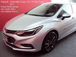 Gm - Chevrolet Cruze LTZ 1.4 Flex Turbo (Aut.) - 1º Dono - Placa B - 2017