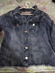 Jaqueta jeans tamanho g nova
