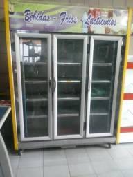 Freezer vidrine